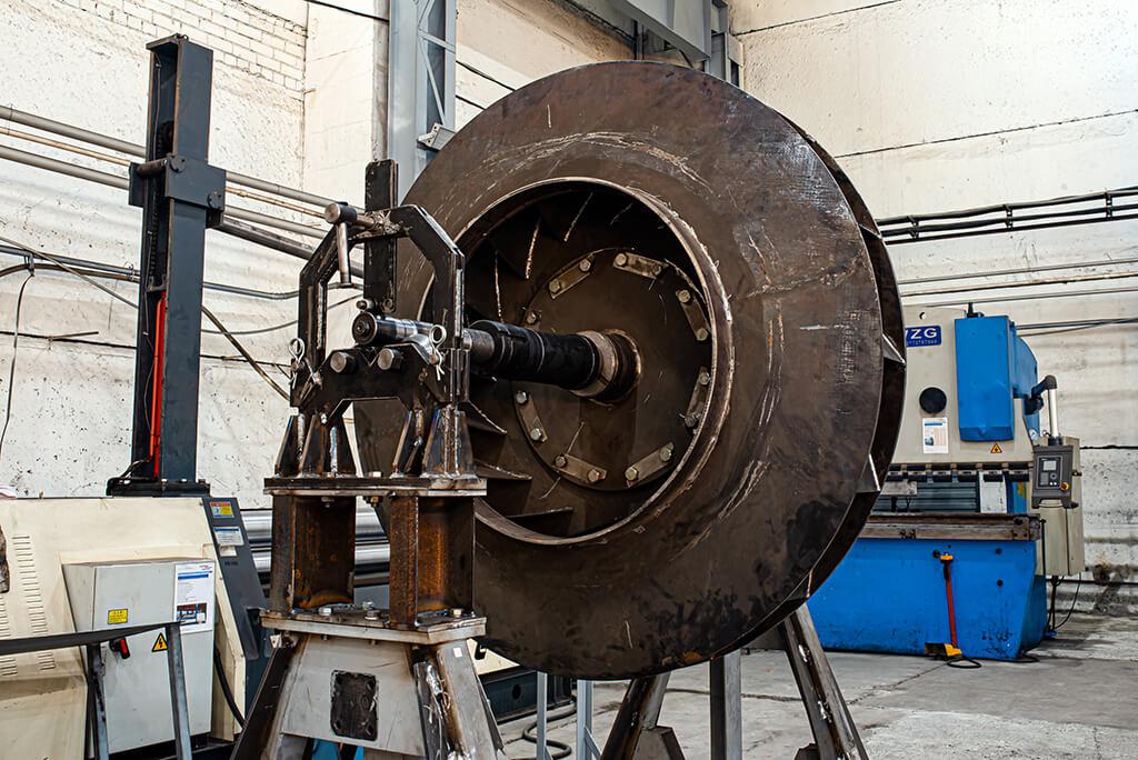 Балансировка вентиляторов большого диаметра